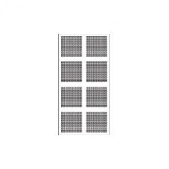 לוח גבס מחורר במקבצים 12/25Q ,  AK-DB 2-4