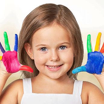 צובעים את חדר הילדים