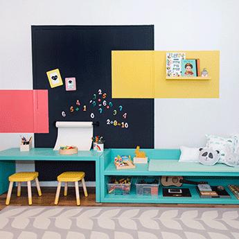 צבע לחדר הילדים