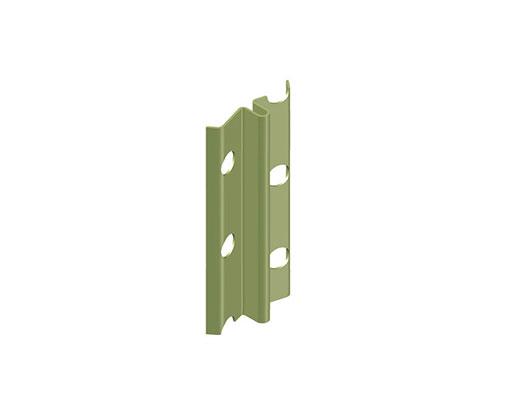 """מאייקים - סרגל פח מגולוון ליישור קיר, עובי 6 מ""""מ"""