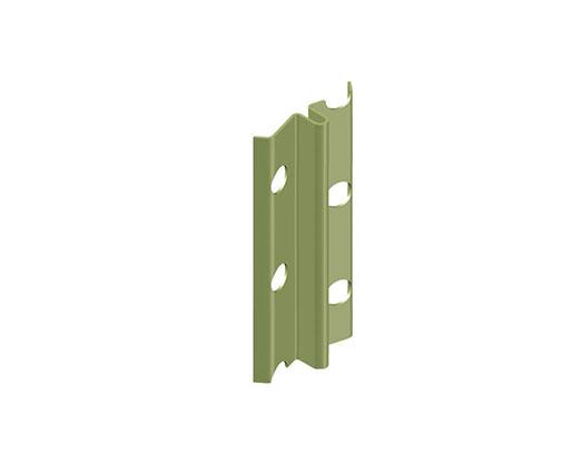 """מאייקים - סרגל אלומיניום ליישור קיר, עובי 6 מ""""מ"""
