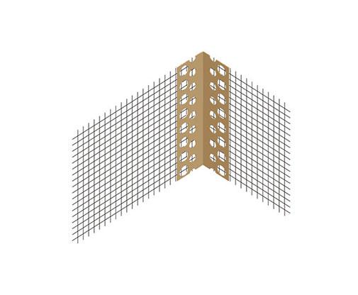 פינת pvc + רשת אינטרגלס תוצרת גרמניה מק'ט יצרן 9305 משמשת ללוח סופרבורד