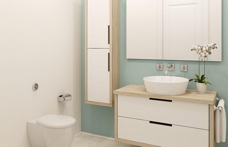 צבע מונע עובש- חדר מקלחת