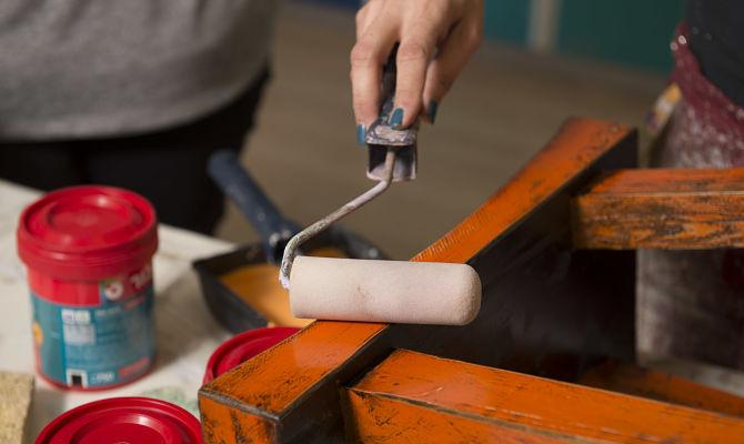 סדנת חידוש רהיטים עם ריבה עמיר-גלילי