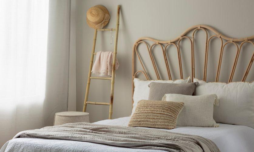 חדר שינה צבוע עם eco2